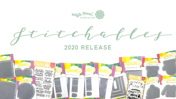 Waffle Flower Stitchables release blog hop