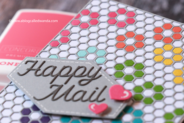 Concord & 9th, Concord and 9th, new color collection, new ink pads, new cardstock, hexagon designer dies, sew happy hearts dies, hexagon labels dies, card layouts, hexagon cards, wanda guess