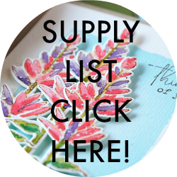 supply list field notes card kit