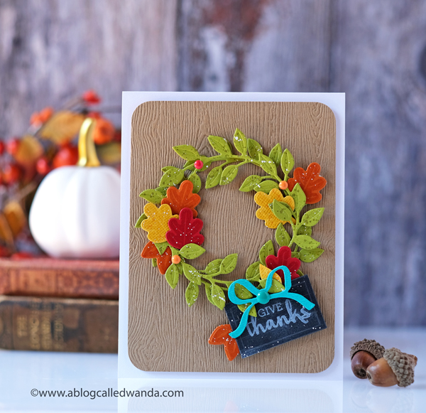 Stampin Up Arrange A Wreath