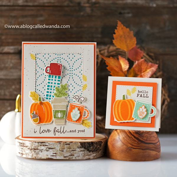 Catherine Pooler stamps and dies. Pumpkin Season Stamp Set. Petal cover plate. Fall card ideas. Club Sursee. CP inks, Wanda Guess