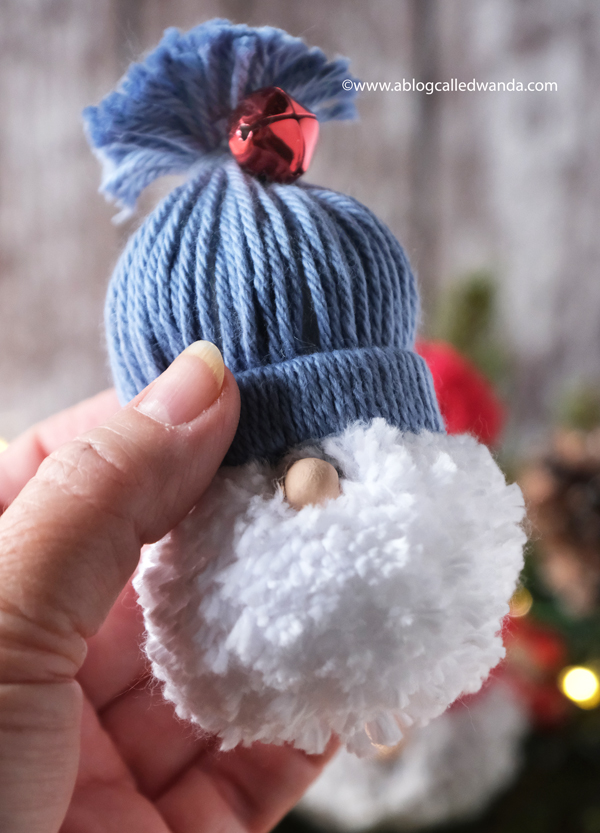 yarn, yarn gnome, gnomes, make it yourself, diy, christmas gnomes, kids crafts, bobble hats, handmade crafts for families, pom pom maker, pom pom projects, a blog called wanda