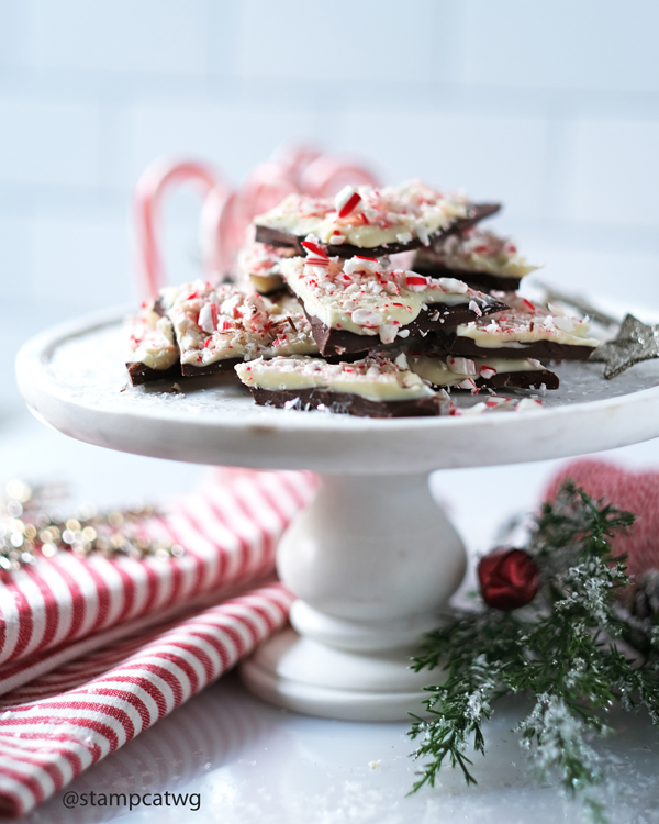 Peppermint Bark Recipe. How to make peppermint bark and christmas treats. wanda guess