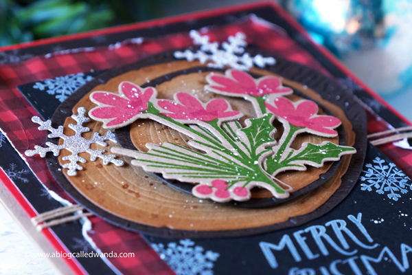 The Greetery new release Merry Makings. Holiday 2020 new stamps and dies. Christmas, winter, holiday. Merry Sprigs, Written in Ribbons, Wood Slices dies, Banner and Bough Stencils and stamps, handmade, design team, wanda guess