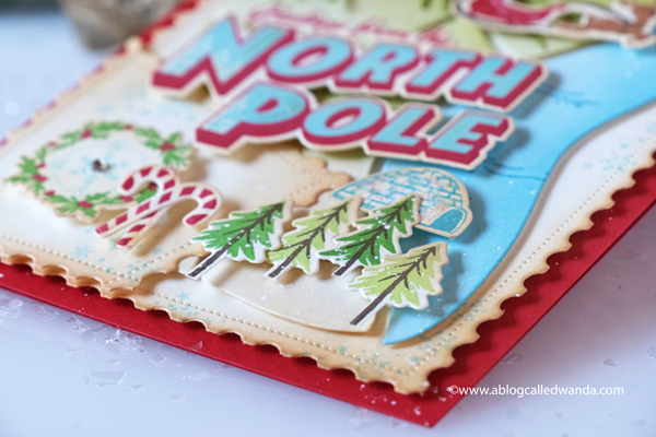 The Greetery new release Merry Makings. Holiday 2020 new stamps and dies. Destination North Pole, Christmas, Winter, Holiday. Card ideas. Snowflake Soiree stamps, dies and stencils, Snowflakes. DIY Christmas card ideas. The Greetery Wanda Guess