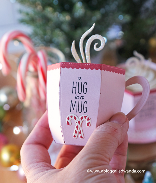 The Greetery new release Merry Makings. Holiday 2020 new stamps and dies. Winter, Holiday, Christmas ideas. 3d coffee mug dies, Hug in a Mug, Sweet Treats, S'more Holiday, Square Dance stencils. The Greetery design team Wanda Guess