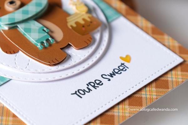 Doodlebug paper, Doodlebug stamps, Doodlebug Pumpkin Spice, stamping, die cutting, Doodle pops, Pumpkin Spice Latte, crafting, handmade cards, cardmaking, card ideas, card layouts, Fall cards, Wanda Guess, A Blog Called Wanda