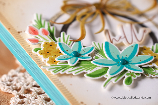 The Greetery new release Winter Wanderer Collection. Hoop Wreath florals, Boho Chic, handmade cards with stamping and dies, Florals stamps, DIY, Card Ideas, Wanda Guess
