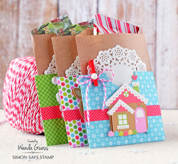 Doodlebug papers for christmas time treats